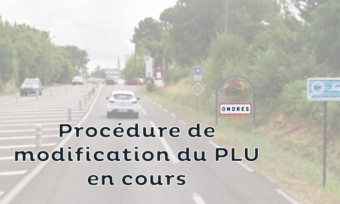 PLU d'Ondres - Modification n°5